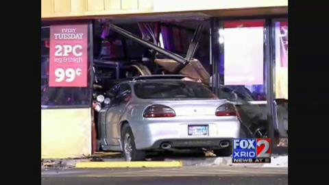 Teen Faces Charges for Crashing Into a Restaurant in Edinburg