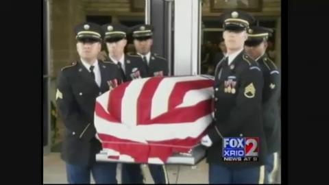 Edcouch soldier, Estevan Altamirano laid to rest