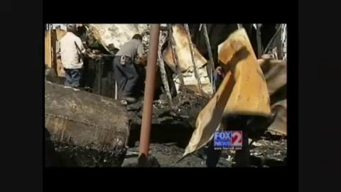 Family left homeless, after fire