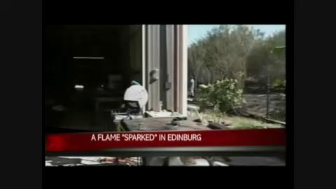Edinburg fire department investigate possible arson