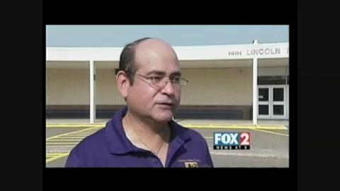 A Street Name Honors a McAllen School