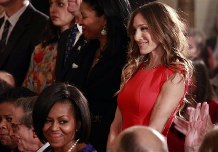 Michelle Obama, Sarah Jessica Parker