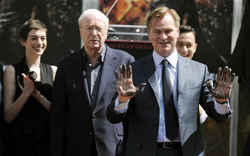 Christopher Nolan, Anne Hathaway, Joseph Gordon-Levitt, Michael Caine