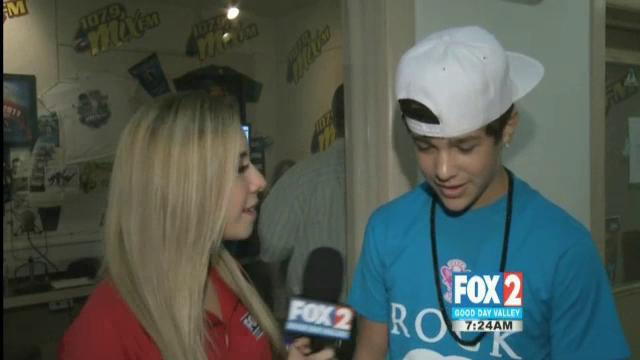 Interview with Austin Mahone