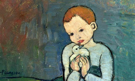 Hanging around … Pablo Picasso's Child with a Dove (1901).