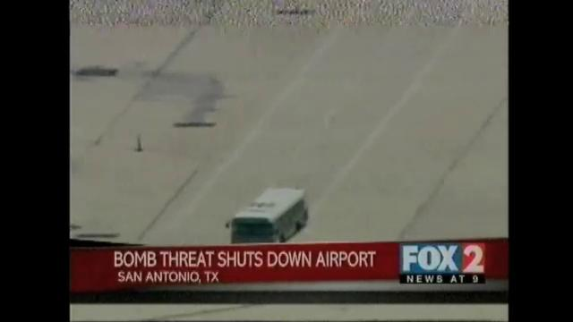 Bomb Threat Shuts Down San Antonio Airport