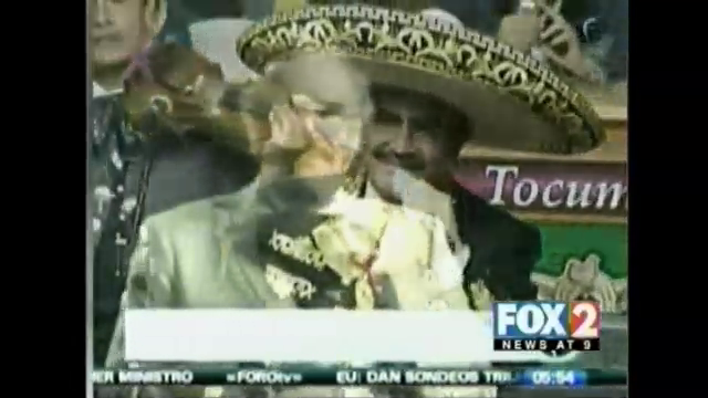 Vicente Fernandez Screened for Liver Cancer