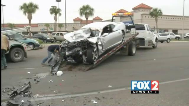 2 Injured in McAllen Head-On Crash