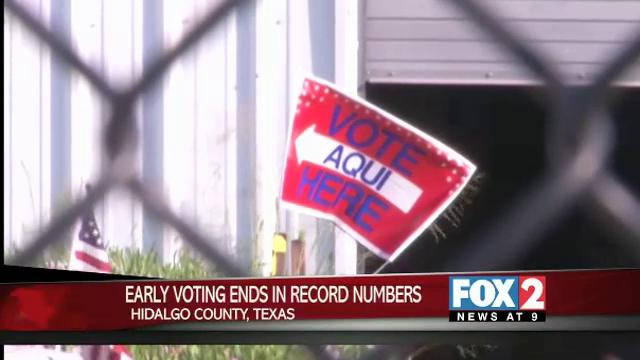 Early Voting Ends in Record Numbers