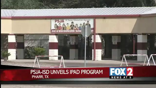 PSJA ISD Unveils iPad Program