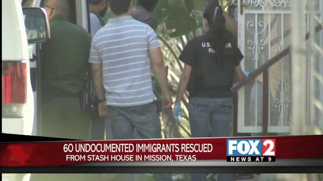 60 Immigrants Rescued from Mission Stash House