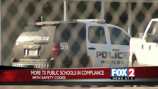 More TX Public Schools in Compliance with Safety Codes