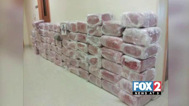 Nearly 1,000lbs of Drugs Seized in Alton