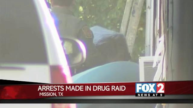 Arrests in Mission Drug Raid
