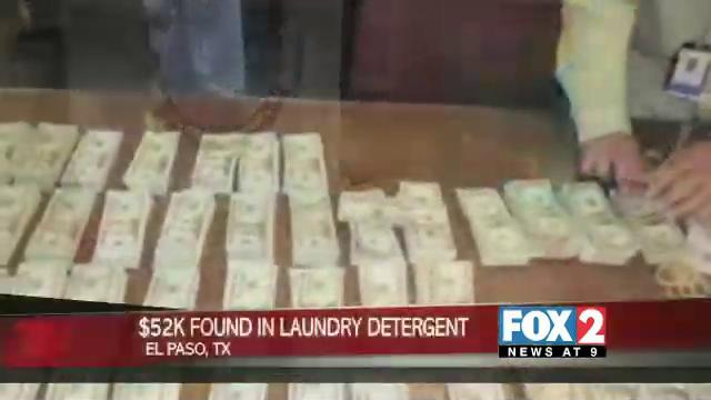 $52k found in Laundry Detergent