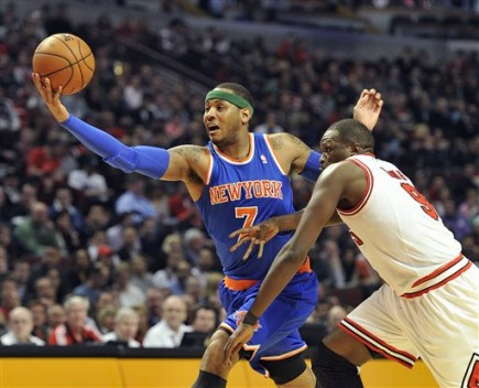 Carmelo Anthony, Luol Deng