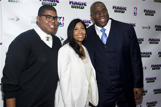 Magic Johnson, Cookie Johnson, EJ Johnson