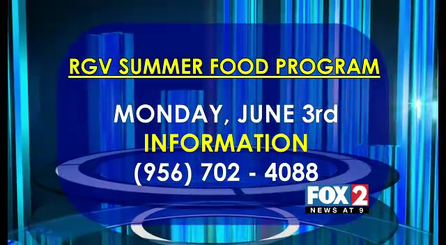 Catholic Charities Kick Off This Years RGV Summer Food Program