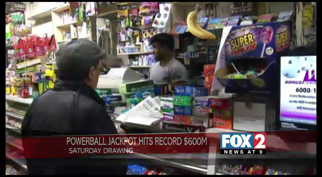 Powerball Jackpot Hits Record $600M