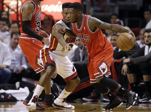 Nate Robinson, Norris Cole