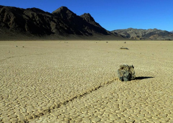 Mystery of Death Valley's moving rocks solved