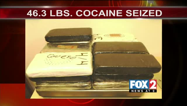 Just Under $1.5 Million of Cocaine Seized