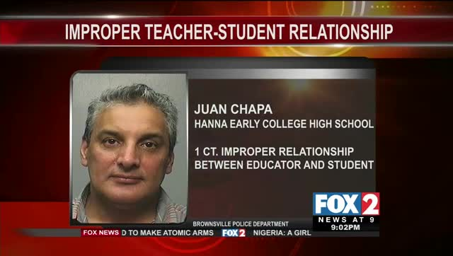 Brownsville ISD Teacher Arrested for Improper Relationship with Student