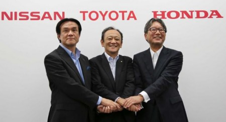"""Toyota, Nissan, Honda to create hydrogen stations to build a """"hydrogen society"""""""