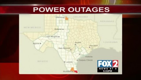 Cameron and Hidalgo Counties Experiencing Power Outages