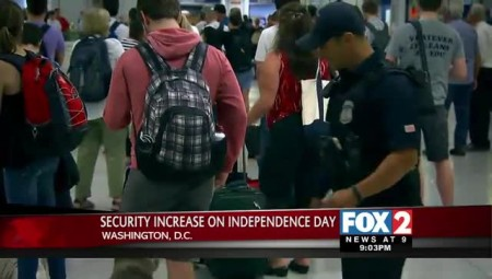 U.S. Officials Beefing up Security this Independence Day