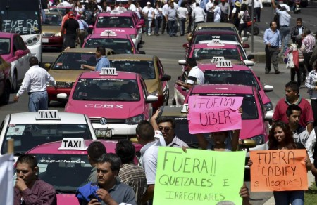 Mexico City proposes special regulations for Uber Drivers