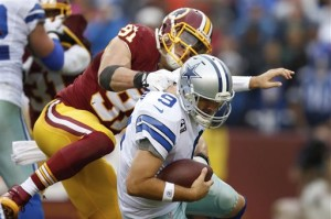 Ryan Kerrigan, Tony Romo
