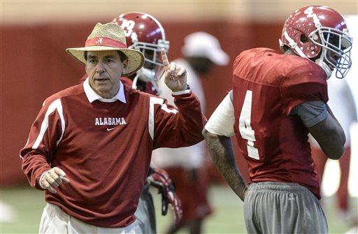Alabama Football Sugar Bowl prep Tuesday Practice
