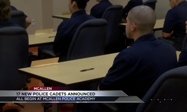 McAllen Police Department announces 17 new police cadets
