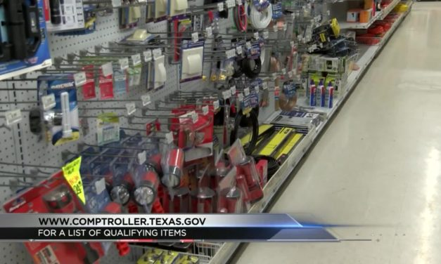 Texas Sales Tax Holiday for Emergency Supply Purchases