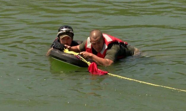 Border Patrol Demonstrates New Rescue Techniques