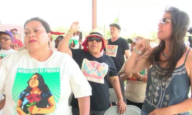 Caravan Against Fear' Stops in the Rio Grande Valley