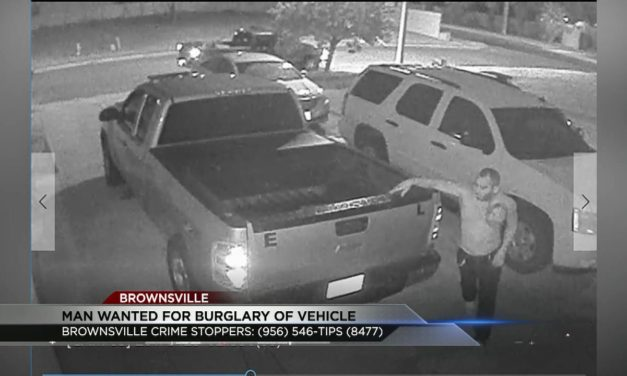 Man wanted for burglary of a vehicle
