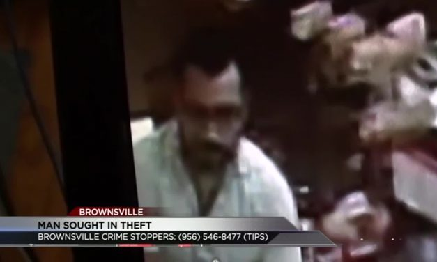 Man Sought in theft in Brownsville