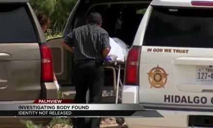 Hidalgo County Sheriff's Office Investigating Dead Body Found