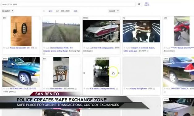 San Benito offers a 'Safe Exchange Zone' for online transactions