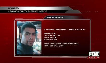 Hidalgo Sheriff's Office Searching for Man Wanted for Assault