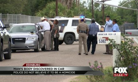 Sheriff's office investigating man found dead inside vehicle