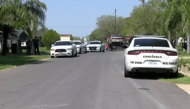 San Benito Authorities in a multi-city car pursuit