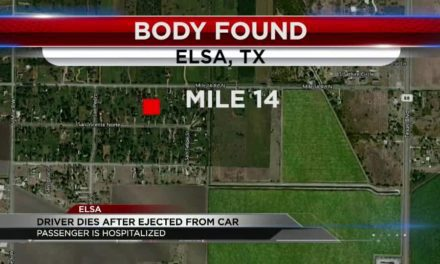 Breaking News: Body found on the side of the road after a one-vehicle crash