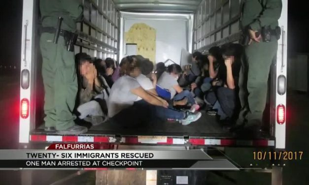 Undocumented Immigrants found in a rental truck crossing Falfurrias Checkpoint