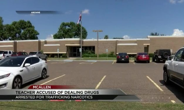 McAllen ISD Allegedly Dealing Cocaine Arrested