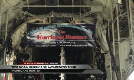 McAllen International Airport Hosts 2018 NOAA Hurricane Awareness Tour