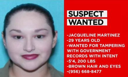 Woman Wanted In Hidalgo County For Tampering With Government Records