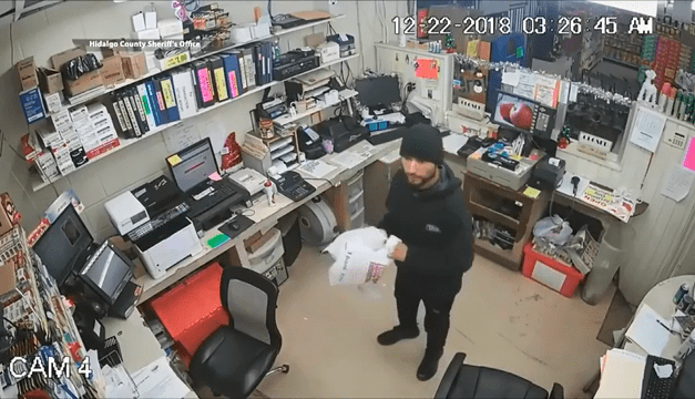 Alleged Cigarette Thief Wanted